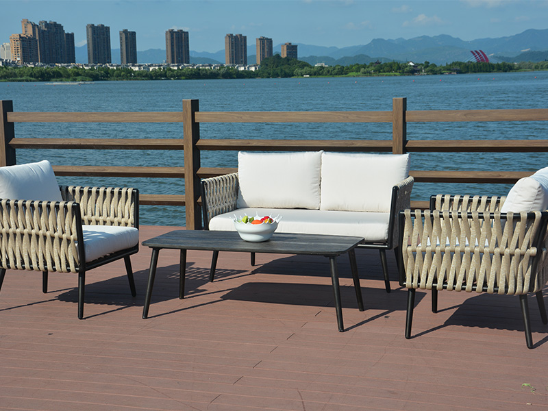 Rattan sofa garden furniture set