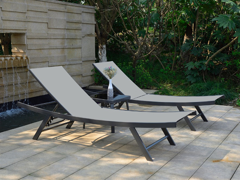 poolside sun lounger